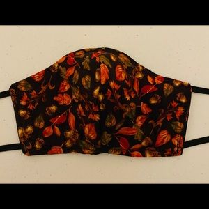 Fall Leaves Adult size shaped face mask